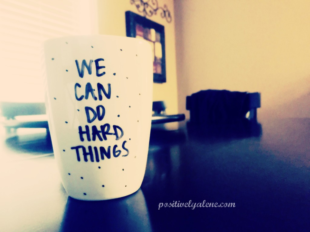 do hard things mug
